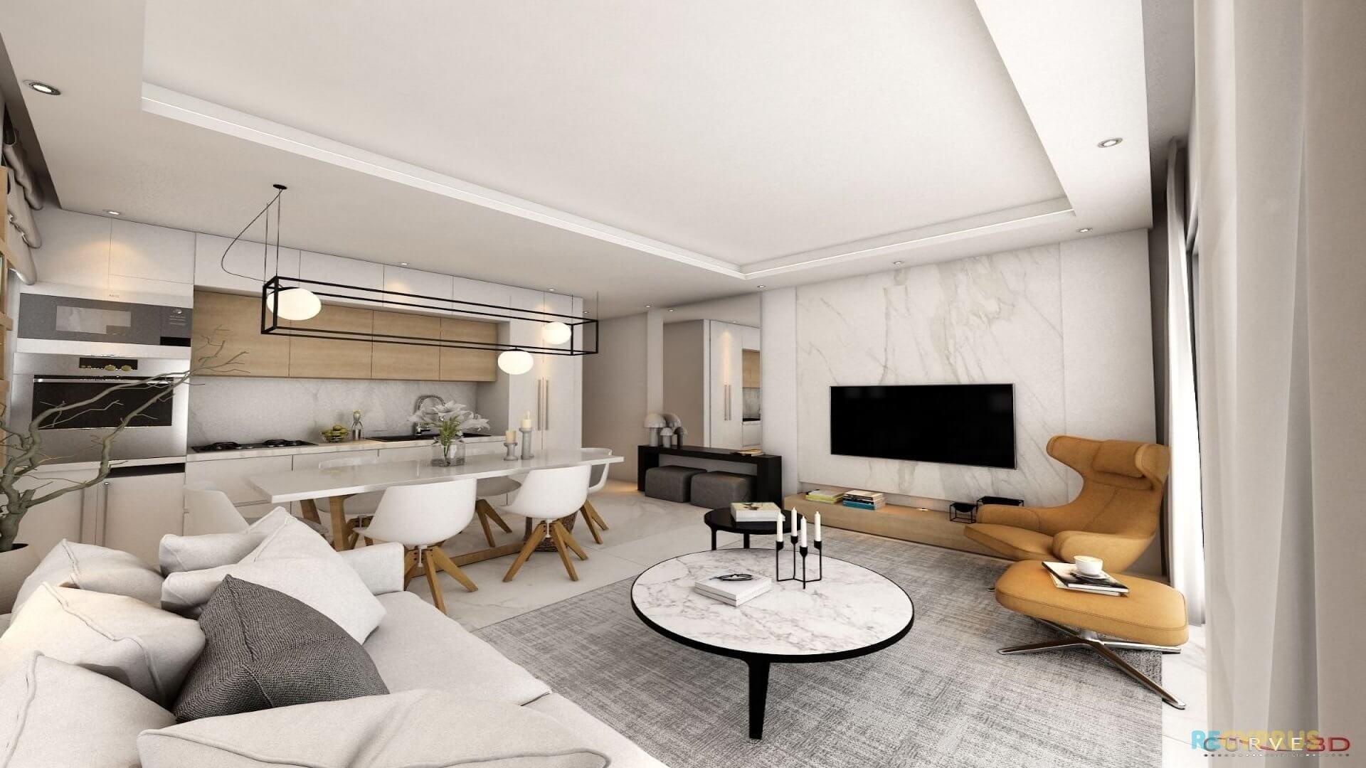 Apartment for sale City Center Larnaca Cyprus 6 3596