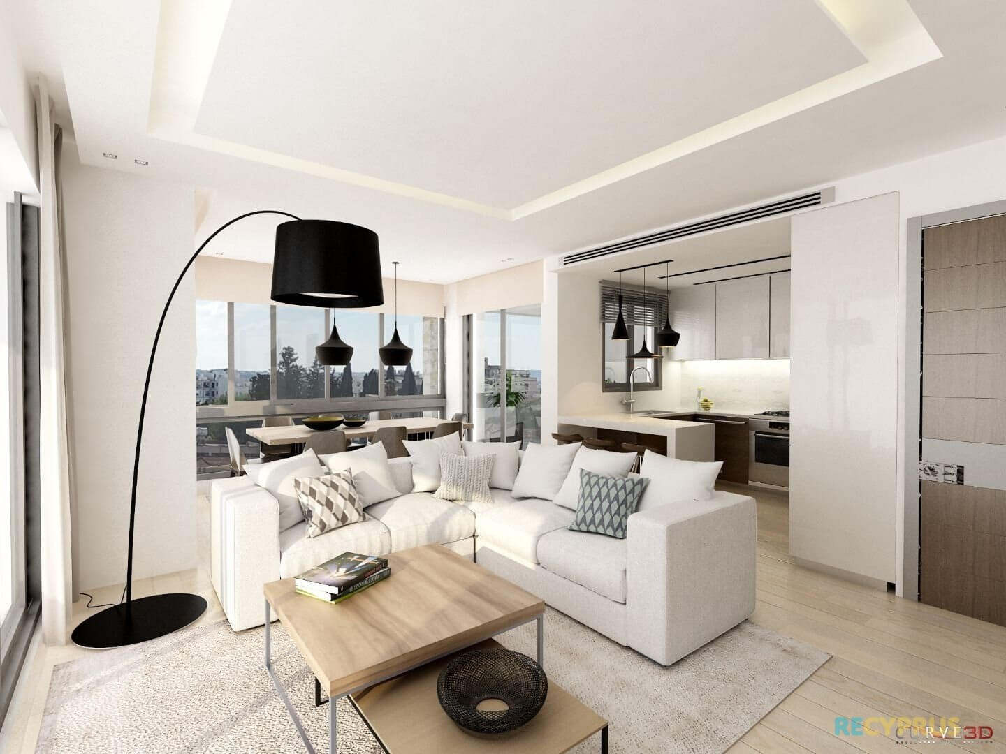 Apartment for sale City Center Larnaca Cyprus 6 3597