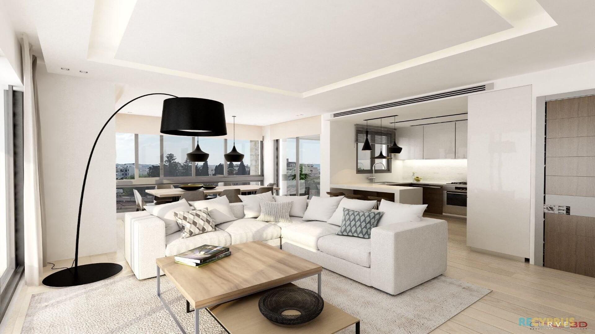 Apartment for sale City Center Larnaca Cyprus 6 3598